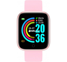 Купить Фітнес-браслет Y68 pink в Украине