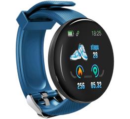 Купить Фитнес браслет D18 Blue