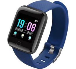 Купить Фитнес браслет ID116 Plus Blue в Украине
