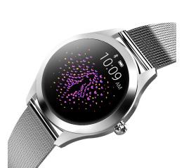 Купить Фітнес-браслет KingWear KW10 Silver в Украине