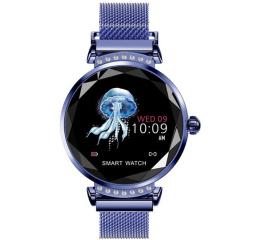 Купить Фітнес-браслет Lemfo H2 Blue в Украине