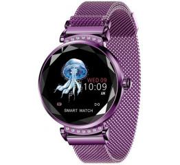 Купить Фитнес браслет Lemfo H2 Purple