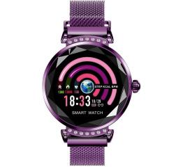 Купить Фітнес-браслет Lemfo H2 Purple в Украине
