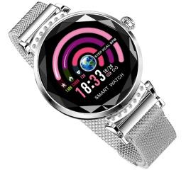 Купить Фітнес-браслет Lemfo H2 Silver в Украине