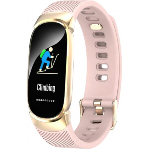 Smart Band Supero Qw16 Тонометр Pink Gold