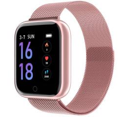 Фитнес браслет Lemfo T80 Pink
