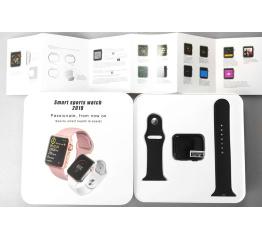 Купить Смарт часы IWO 10 44 mm Pink