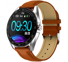 Смарт часы K7 Leather Brown