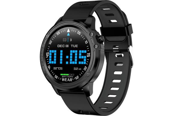 Смарт часы Microwear L8 с ЭКГ Black