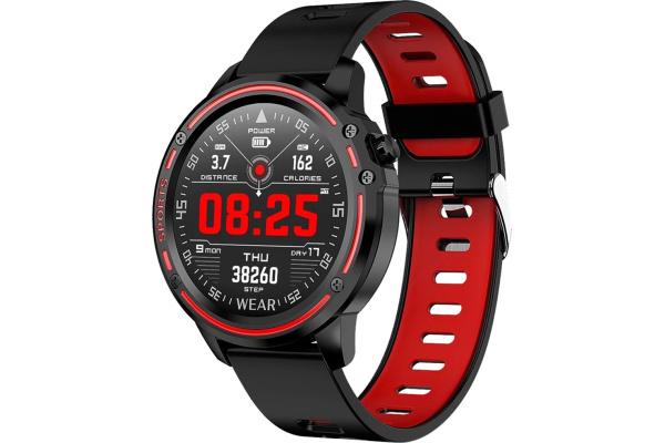 Смарт часы Microwear L8 с ЭКГ Red