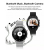 Смарт-часы с ЭКГ Microwear L7 Leather Silver