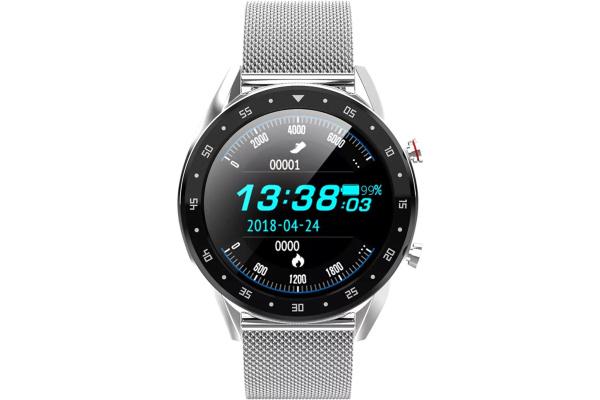 Смарт-часы с ЭКГ Microwear L7 Metal Silver