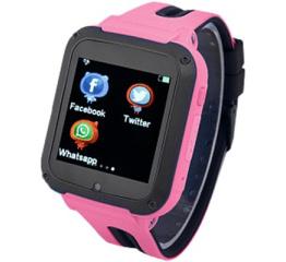 Купить Детские cмарт часы с GPS трекером G3 pink