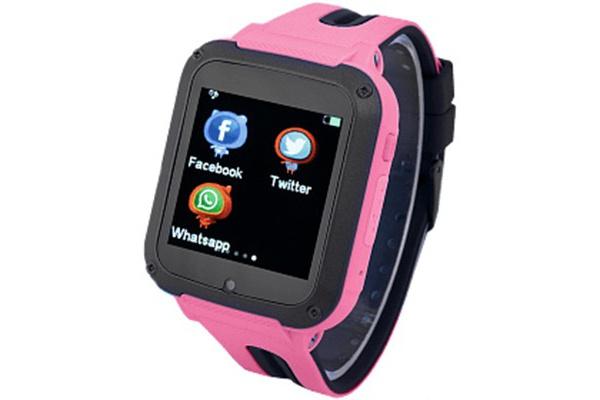 Детские cмарт часы с GPS трекером G3 pink