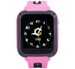 Купить Детские cмарт часы с GPS трекером G3 pink в Украине