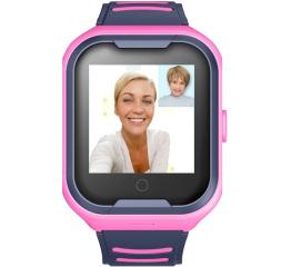 Купить Детские смарт часы с GPS трекером A36E 4G pink в Украине