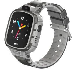 Купить Детские смарт часы с GPS трекером DF45 grey
