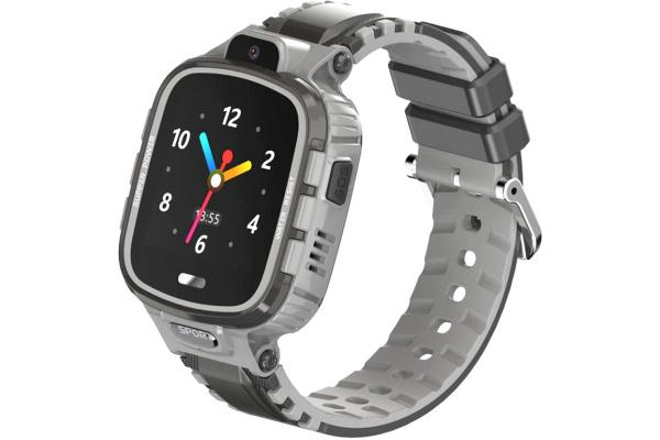 Детские смарт часы с GPS трекером DF45 grey
