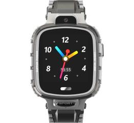 Купить Детские смарт часы с GPS трекером DF45 grey в Украине