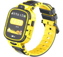 Купить Детские смарт часы с GPS трекером DF45 yellow