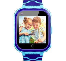 Купить Дитячий смарт-годинник з GPS трекером T3 4G blue в Украине