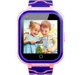Купить Детские смарт часы с GPS трекером T3 4G pink в Украине