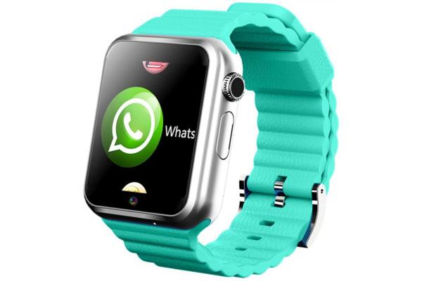 Детские смарт часы с GPS трекером V7K Steel green