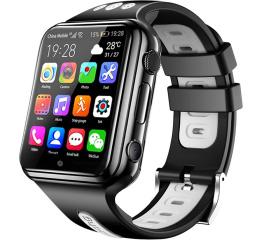 Купить Детские смарт часы с GPS трекером W5 4G (2 ядра) black