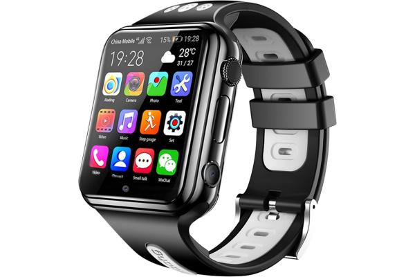 Детские смарт часы с GPS трекером W5 4G (2 ядра) black