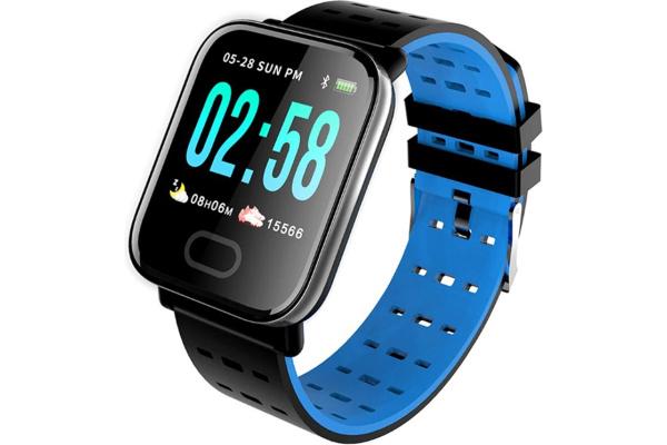Фитнес браслет A6 blue