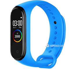 Купить Фитнес браслет UWatch M4 light-blue