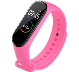 Купить Фитнес браслет UWatch M4 pink-flower