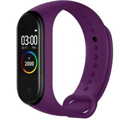 Купить Фітнес-браслет M4 purple