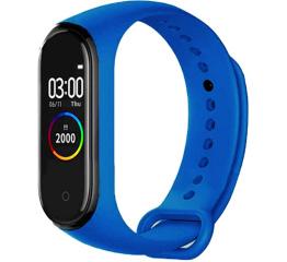 Купить Фітнес-браслет M4 royal-blue