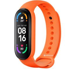 Купить Фитнес браслет M6 orange