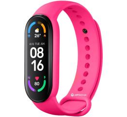 Купить Фитнес браслет M6 pink