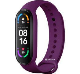 Купить Фитнес браслет M6 purple