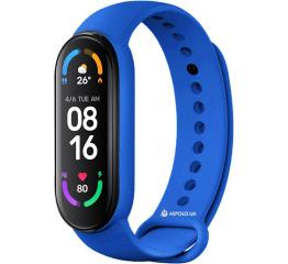 Купить Фитнес браслет M6 royal-blue