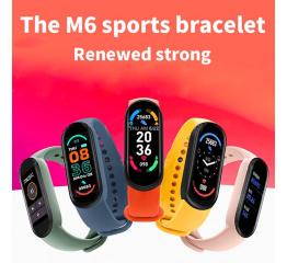 Купить Фитнес браслет M6 royal-blue в Украине