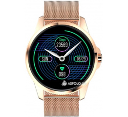 Купить Фітнес-браслет R23 Metal gold в Украине