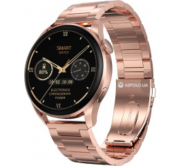 Купить Смарт-годинник DT3 з ЕКГ Metal gold
