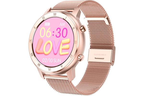 Смарт часы No.1 DT89 Metal Rose Gold