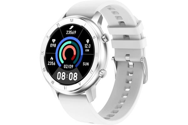 Смарт часы DT89 с ЭКГ silver-white