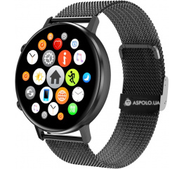 Купить Смарт часы UWatch DT96 Metal black