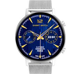 Купить Смарт часы DT96 Metal silver в Украине