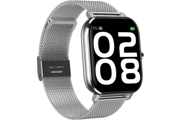 Смарт часы DTMAX с ЭКГ Metal silver