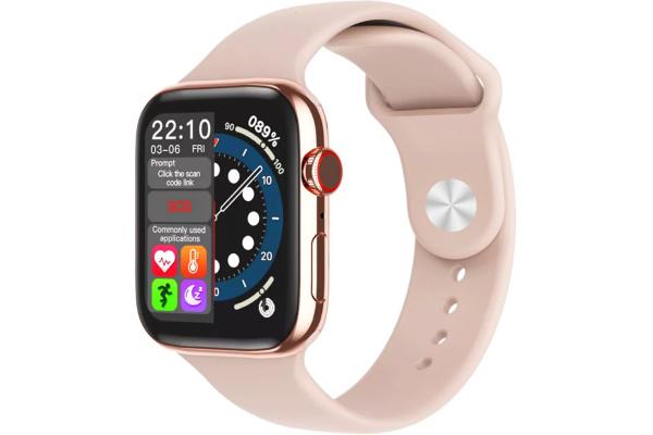 Смарт часы F28 40mm pink