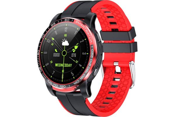 Смарт часы GW20 black-red