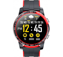 Купить Смарт часы GW20 black-red в Украине