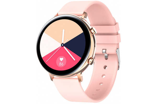 Смарт часы GW33 с ЭКГ pink